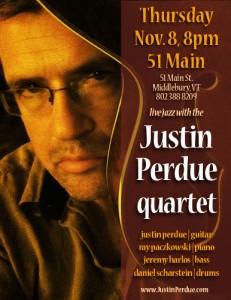 Justin Perdue Quartet - live at 51 Main